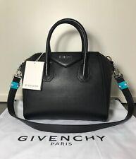 GIVENCHY ANTIGONA SMALL BAG BLACK GOAT TOTE AUTHENTIC 100% HANDBAG TASCHE NEW