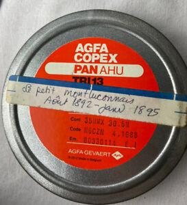 Le Petit Montluconnais France 1892-1895 Film 35MM B&W Microfilm