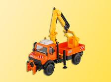 Kibri 15005 gauge H0, Unimog with working Crane and Basket #