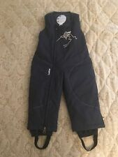 Kids Decathlon creation 2y Salopettes snowboard trousers fleece lined padded