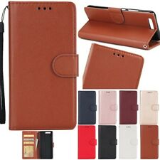 Card Holder Leather Flip Wallet Case Cover Stand Floral For Various Phone Model