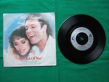 """CLIFF RICHARD / SARAH BRIGHTMAN """"All I ask of you"""" 7 inch Ex (1980s 45rpm)"""