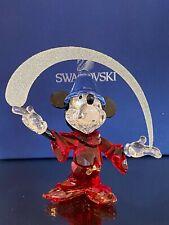 SWAROVSKI MICKEY MOUSE the SORCERER in BOX