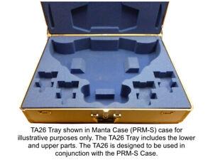 KR Tray for 1 T'au Manta plus 4 Devilfish, fits inside the Manta Prestige case