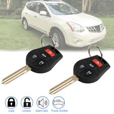 2 For Nissan Rogue Cube 2008 2009 2010 2011 2012 2013 2014 Keyless Remote Key
