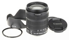 Canon EF-S 18-135mm f/3.5-5.6 IS STM lens | +hood, UV | excellent condition
