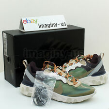 NIKE BQ2718-300 NIKE X UNDERCOVER REACT ELEMENT 87 GREEN SIZE8.5 IN HAND