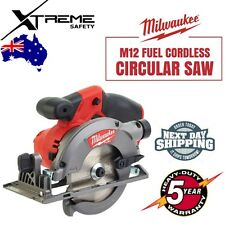 Milwaukee M12 FUEL Brushless Lithium Ion Cordless 140mm Circular Saw