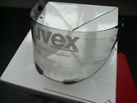 Visier für Uvex Motorradhelm Uvex Boss 525 / 520 rauchgetönt neu Antifog