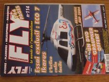 $$$ Revue Fly International N°114 Plan encarte Me 163 Komet  Eco 7 Ikarus