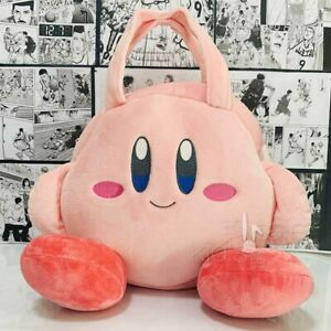 Kirby Star Allies Plush Doll Tote Bag Pink Amusement Prize New