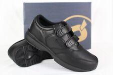 New Propet Men's Life Walker Strap Comfort Walking Shoes 9.5m Black # M3705