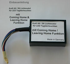 Audi A6 S6 4F LED TFL Modul Steuergerät original Tagfahrleuchten Leuchten