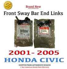 2001- 2005 Honda CIVIC Genuine OEM Front Sway Bar End Links 51320/51321S5A003