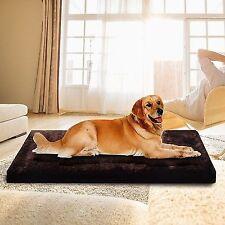 Waterproof Large Warm Soft Fleece Pet Pad Dog Cat Puppy Bed Mat Kennel Cushion