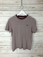 FRED PERRY T-Shirt - Size Large Youth - Striped - Great Condition - Boy's