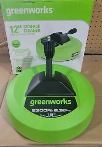 Greenworks Pro12-in 2300 PSI Rotating Surface Cleaner for Pressure Washer