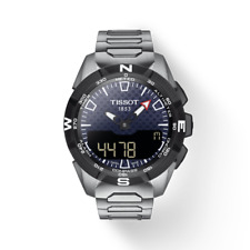 Tissot T-Touch Expert Solar II Titanium Quartz 45 MM Watch - T1104204405100