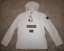 Napapijri RAINFOREST SUMMER Jacket in White - XL [4077] **NEW**