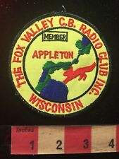 Vtg Appleton WI FOX VALLEY CB RADIO CLUB INC. MEMBER Amateur Radio Patch 81D2