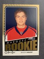 2009-10 O-Pee-Chee Metal Hockey Marquee Rookie #785 Braden Holtby Washington RC