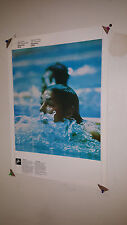 VINTAGE 1976 MONTREAL OFFICIAL COJO OLYMPICS POSTER  SWIMMING & JUDO