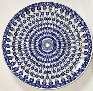 "Decorative plate 14"" Mandala"