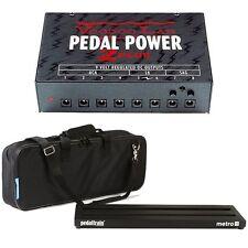 Pedaltrain Metro 24 Pedalboard & Soft Case VoodooLab Pedal Power 2 Plus Supply