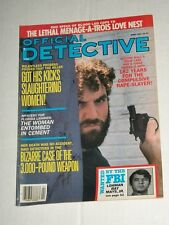 Vintage OFFICIAL DETECTIVE Vol 57 #4 April 1987 Gun Wielding Murderer!