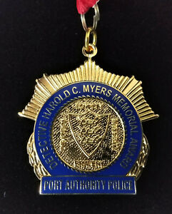 Port Authority Police Detective Harold C Myers Memorial Award Medal for Bravery