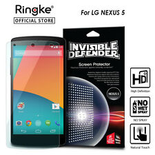 Nexus 5 Genuine Ringke Invisible Defender Screen Film Protector for LG