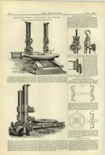 1884 Andrew Bell Tib Lane Manchester Campbell's Hunter máquina de perforación