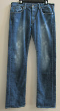 Levis Capital E Hesher Handmade In California USA Distressed Men's Jeans 34 Paw