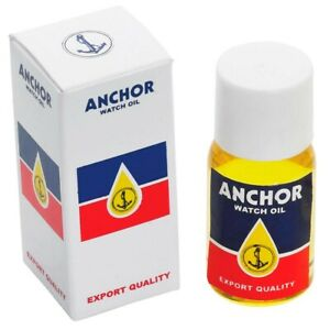 Anchor Refined Watch Oil Lubricant for Pocket and Wrist Watches Moebius 10ml
