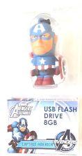NEW USB FLASH DRIVE 8gb MODEL CAPTAIN AMERICA TRIBE HERO MAN STICK MEMORIA USB M