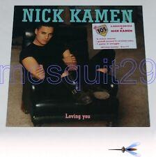 "NICK KAMEN ""LOVING YOU"" RARE LP ITALY+POSTER SEALED - MADONNA"