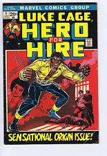 Luke Cage,Hero For Hire #1 Marvel 1972