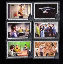 New Star Trek 50th Anniversary  Complete 100 card  Base set + PROMO P1 +WRAPPER