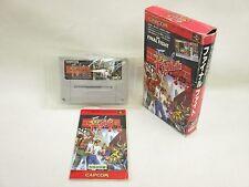 FINAL FIGHT 1 Item ref/ccc Super Famicom Nintendo Capcom Japan Boxed Game sf