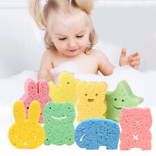 Baby Kids Bath Brushes Sponge Animal Pattern Children Shower Product Baby Care