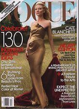 Vogue December 2009 Cate Blanchett, Hillary Clinton VG 021716DBE
