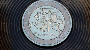 2 euro 2019 LITUANIA cavaliere VYTIS Lituanie Lithuania Litauen Lietuva Литва