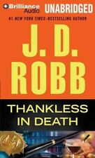 In Death: Thankless in Death 37 by J. D. Robb (2014, MP3 CD, Unabridged)