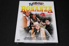 TV Classics Bonanza 4 episodes DVD  New, Sealed