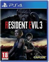 Resident Evil 3 Playstation 4 PS4 BRAND NEW FACTORY SEALED - IN STOCK