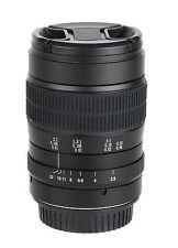 60mm f/2.8 2:1 Super Macro lens for Canon 1200D 1000D 750D 7D 5D III 6D EF Mount