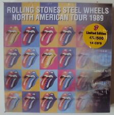 ROLLING STONES  - Steel Wheels North American Tour 1989 -- 14 CD Box Set