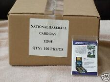 Lot of 100   2006 National Trading Card Day Packs Jeter, Griffey, Pujols, Mantle