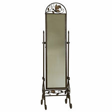 2508 - Butterfly Cheval Mirror