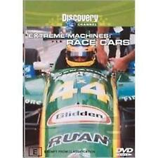Extreme Machines - Race Cars (DVD, 2003)--free postage
